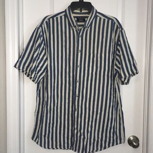 Trader Bay Button Down Striped Shirt